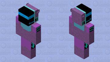 Retro The Protogen Minecraft Skin