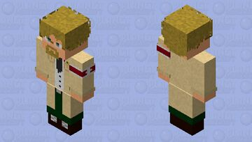 Zeke Yeager HD Minecraft Skin