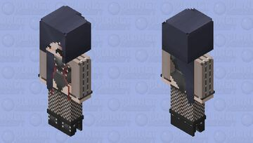 Laced Leather HD Minecraft Skin