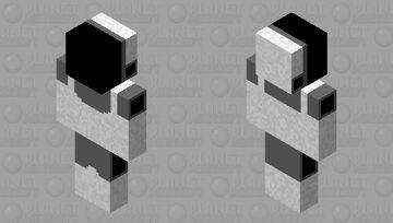 Protogen Base Minecraft Skin