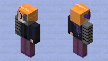 Cyborg Pico (FNF Starcatcher) Minecraft Skin