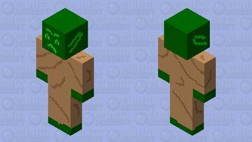 Yoda meme Minecraft Skin