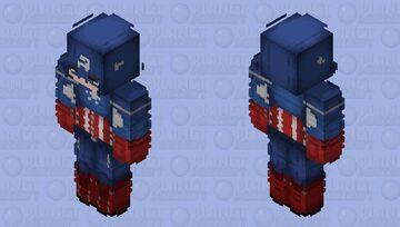 Captain America Skin Minecraft Skin