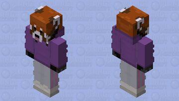 The RedPanda Violet Juice Minecraft Skin