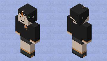 Foxy Gamer Yt my gacha oc Minecraft Skin