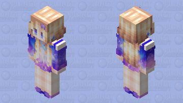 Enchanted Nebula galaxy outfit Minecraft Skin