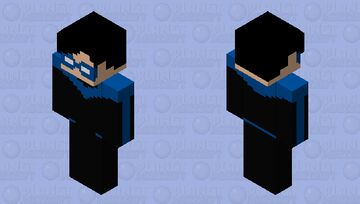Asa Noturna | Clássico Minecraft Skin