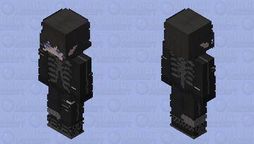 ⇢˚⋆ ✎ ˎˊ- ꒰ 𝑒𝚟𝚎 ! ꒱ Minecraft Skin