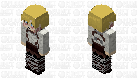 Armin Arlert [After Titan Transformation] Minecraft Skin
