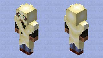 Bad halloween costume (100 remakes DinowCookie) Minecraft Skin