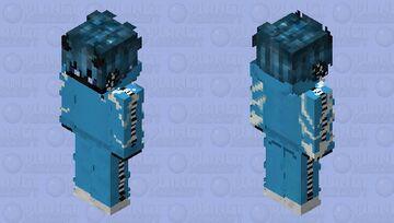 ⚡ Blue Kappa Boy ⚡ Minecraft Skin