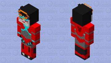 Cyberverse Autobot Windblade Minecraft Skin