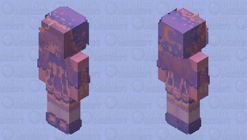 ╔⊱𝔖𝔲𝔫𝔰𝔢𝔱 𝔖𝔱𝔞𝔯𝔰⊰╝ Minecraft Skin