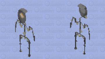 Spider droid Minecraft Skin