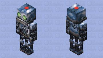 Clank - Ratchet & Clank Rift Apart [High Resolution] Minecraft Skin