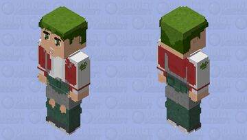 Beast Boy: Titans Season 1 Minecraft Skin