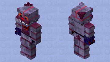 HD Dejected Funtime Freddy (FAN REQUESTED) Minecraft Skin