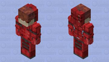 Urdnot Wrex Mass Effect HD Minecraft Skin