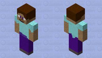 Realistic steve Minecraft Skin