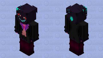Helly the Shadow Demon Minecraft Skin