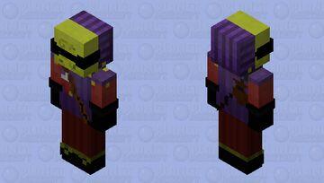 Guest- Hello Neighbor 2 Minecraft Skin
