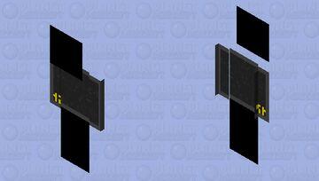 Black Screen of Death Minecraft Skin