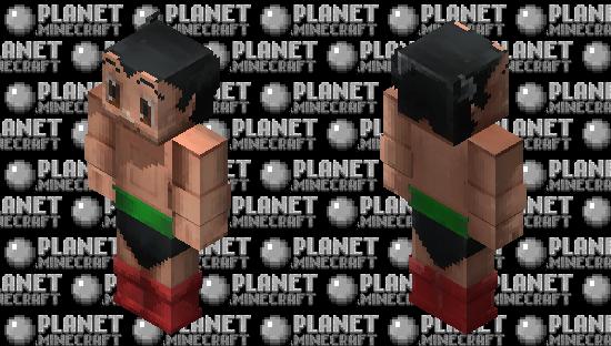Astro Boy Minecraft Skin