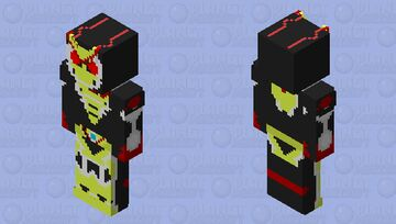 Kamen Rider Zero-Two Minecraft Skin