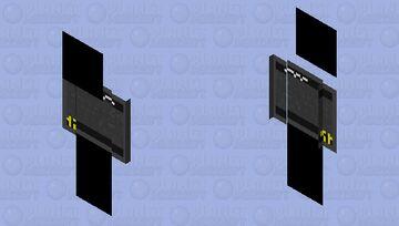 Black Screen of Death part 2 Minecraft Skin