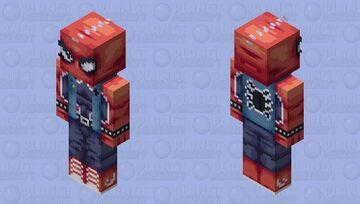 Spider Punk Minecraft Skin