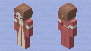 Noble Medieval Maiden HD Minecraft Skin