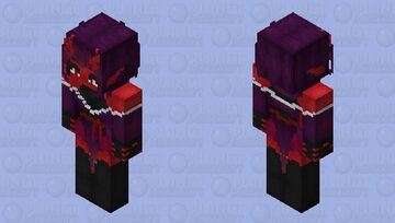 Succubus in a kimono Minecraft Skin