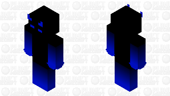Blue Demon Minecraft Skin