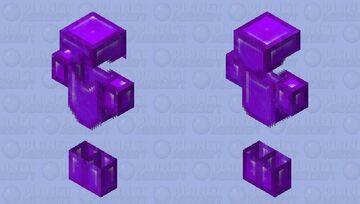 𝕻𝖚𝖗𝖕𝖑𝖊 𝖆𝖗𝖒𝖔𝖗 𝖒𝖔𝖉𝖊𝖑 Minecraft Skin