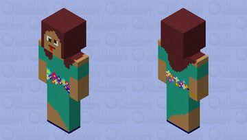 Forest Goddess Minecraft Skin