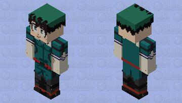 My Hero Academia - Deku Minecraft Skin