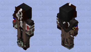 Fixed Zombie Wilbur (DSMP AU) Minecraft Skin