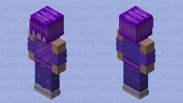𝕊𝕡𝕒𝕔𝕖 𝔾𝕚𝕣𝕝 🪐 Minecraft Skin