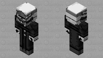 Madness Combat - MAG Agent v2 Minecraft Skin