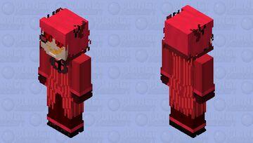 Alastor the Radio Demon V№5 Minecraft Skin