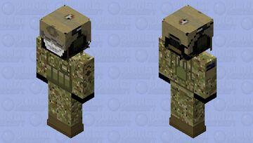 U.S Army OCP Combats Minecraft Skin