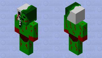 mutant zombie Minecraft Skin