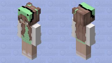 frog hat/ Redo! the first one was a mess up with the legs Minecraft Skin