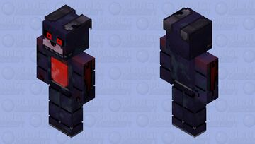 HD BlackHeart Bonnie Minecraft Skin