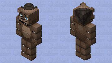 Help wanted Freddy remake Minecraft Skin
