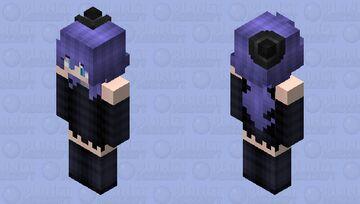 "Stella The Enchantress Witch (From ""More Rainimator Videos"" Minecraft Animations/Rainimator) Remake HD Minecraft Skin"