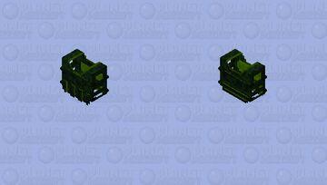Jungle Vest Minecraft Skin