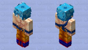 Dragonball Minecraft Skin