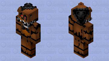Nightmare Freddy ( FNAF 4 ) Minecraft Skin