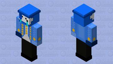 CC Blue boss HD (for bedrock) Minecraft Skin